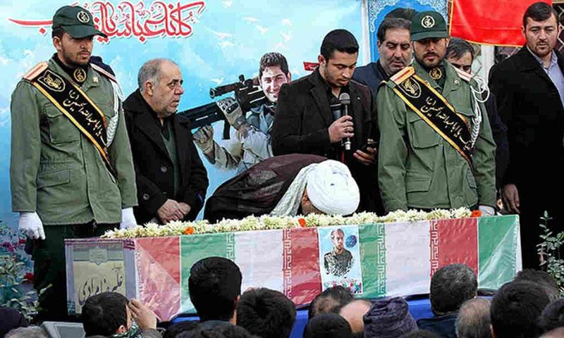 أرشيفية- تشييع جنزال إيراني قتل في سوريا (كيهان)