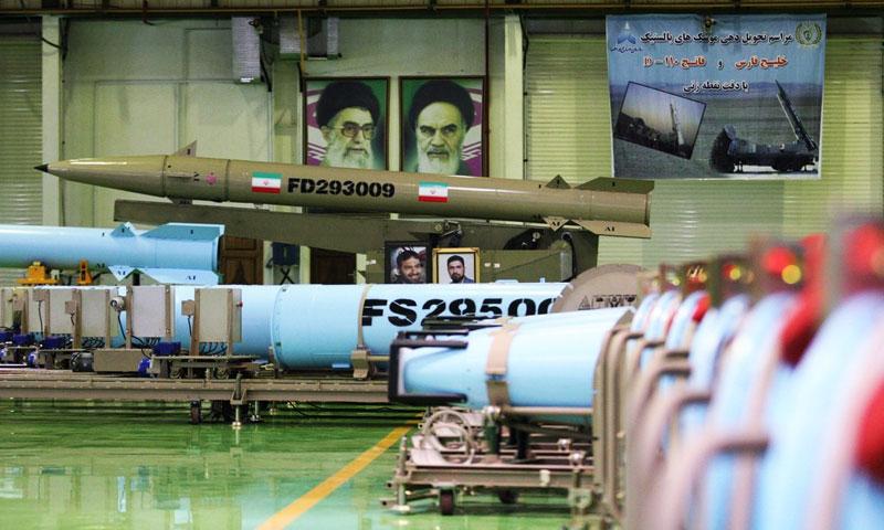 أرشيفية- صاروخ إيراني (وكالة إيرنا)
