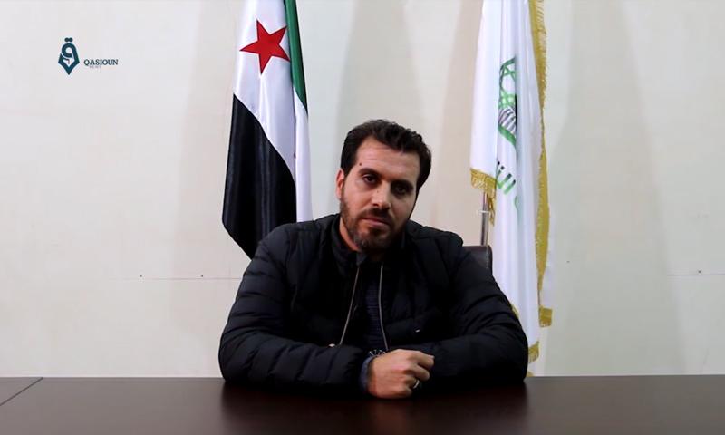 أمني معبر باب السلامة، أبو علي سجو (وكالة قاسيون)