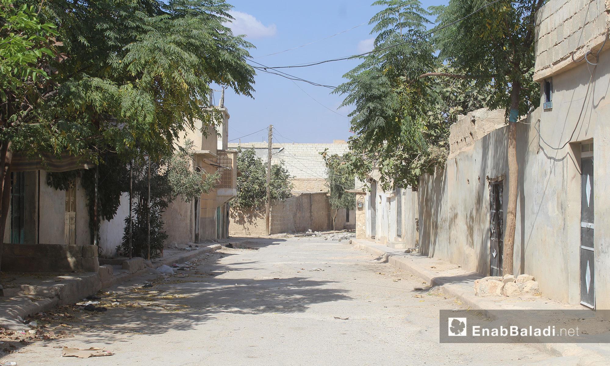 أحد أحياء بلدة أخترين في ريف حلب الشمالي 11 - كانون الأول 2016 (عنب بلدي)