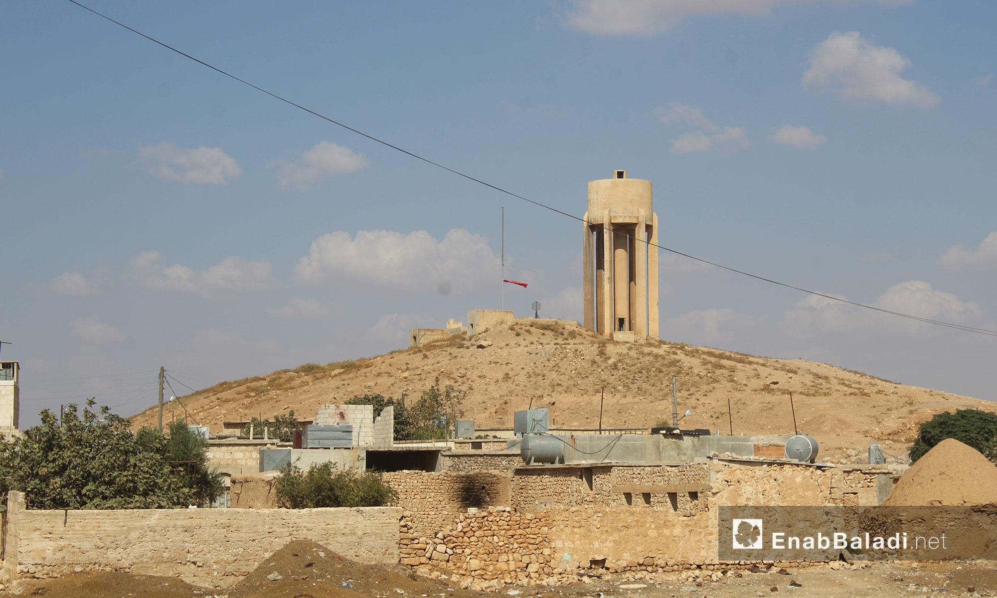 بلدة أخترين في ريف حلب الشمالي 11 - كانون الأول 2016 (عنب بلدي)