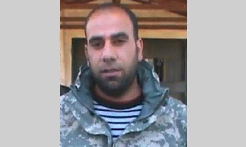 """القيادي في تحالف """"جيش الثورة"""" المشكل حديثًا في درعا، براء النابلسي (تويتر)"""