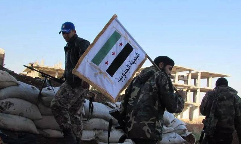عناصر من الجيش الحر في ريف درعا-(انترنت)