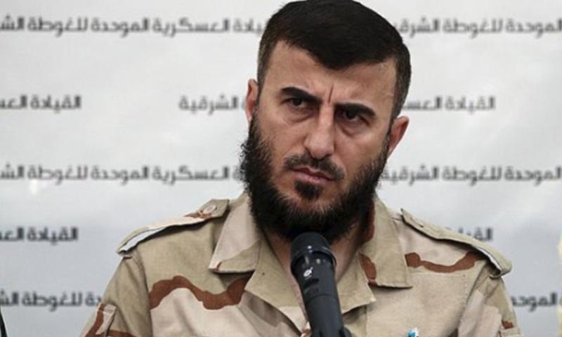"""مؤسس """"جيش الإسلام"""" زهران علوش (GETTY)"""
