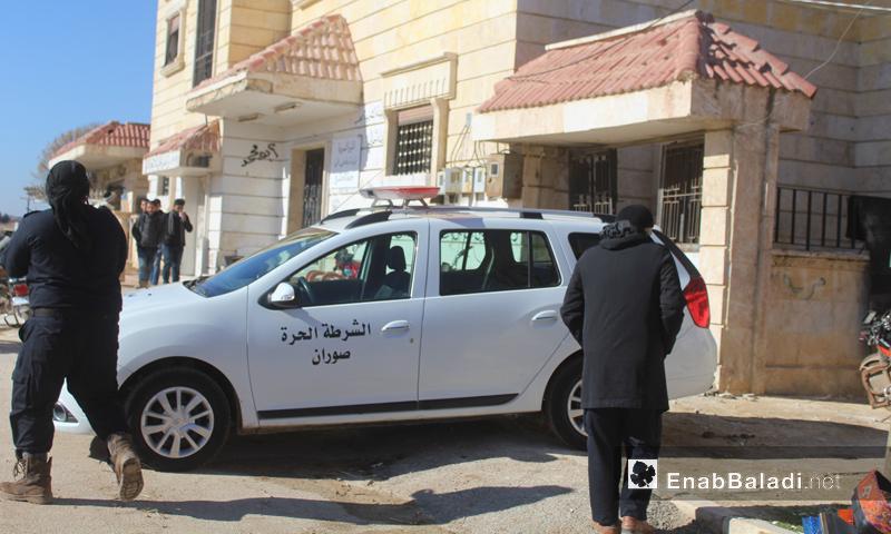 مركز للشرطة الحرة شمال حلب - كانون الأول 2016 (عنب بلدي)