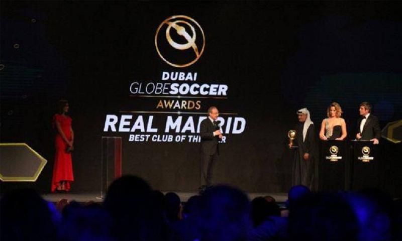 """فعاليات حفل توزيع جوائز """"جلوب سوكر"""" في دبي - الثلاثاء 27 كانون الأول - (انترنت)"""