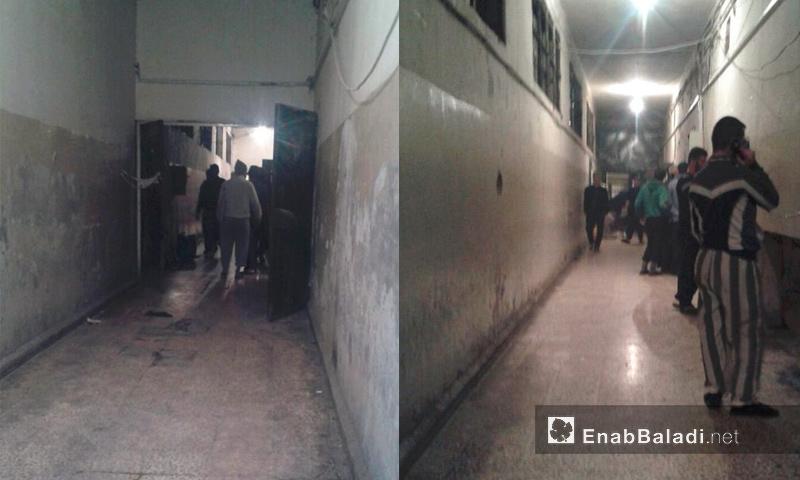 صور من داخل سجن حماة المركزي - 3 كانون الأول 2016 (عنب بلدي)