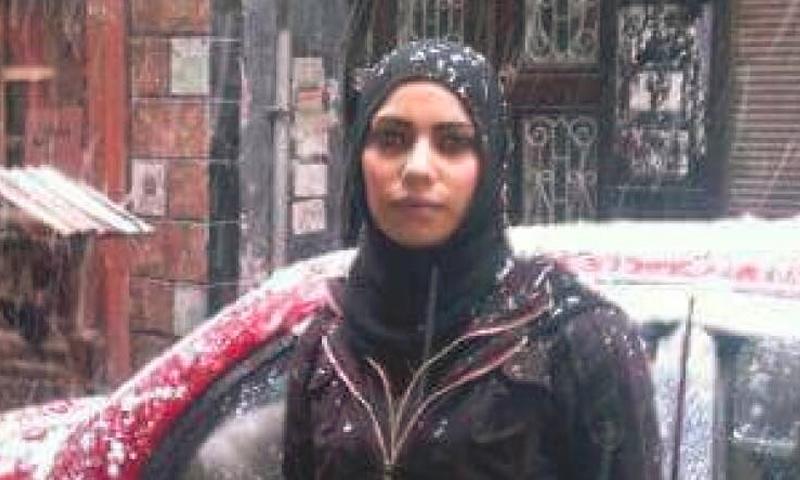هديل ياسين أبو ماضي من مخيم اليرموك جنوب دمشق (تجمع ربيع ثورة)