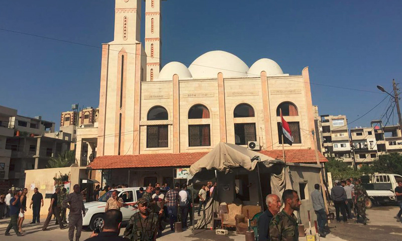 حي الدعتور بمدينة اللاذقية، الخميس 2 حزيران (فيس بوك).