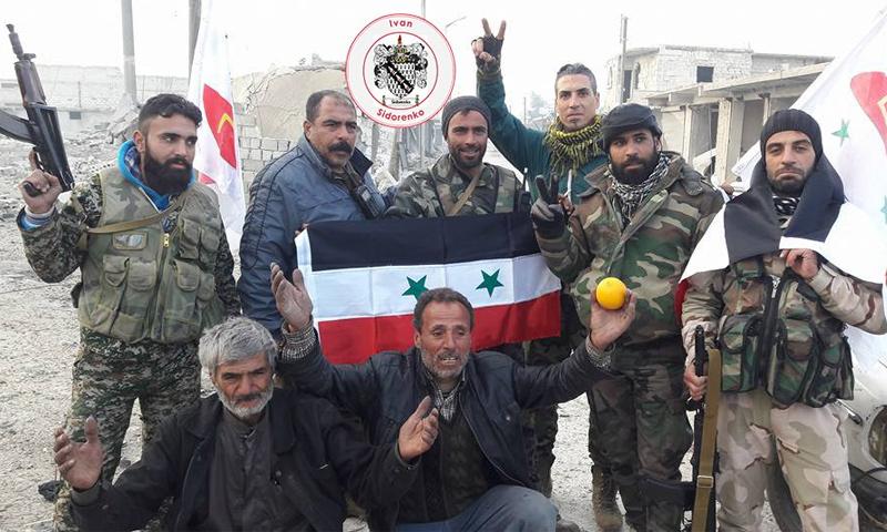تعبيرية: مقاتلون من لواء القدس الفلسطيني في حي الشيخ سعيد بحلب - 12 كانون الأول 2016 (عنب بلدي)