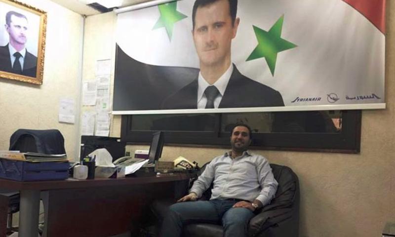 تعبيرية: السوري محمد فارس عبارة، مقيم في الرياض (صفحة الإعلامي السعودي ماجد المالكي في فيس بوك)