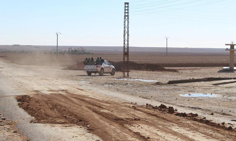 قوات سوريا الديموقراطية في ريف الرقة الغربي_(فيس بوك)