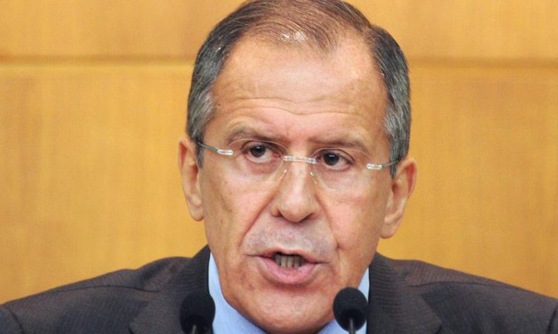 وزير الخارجية الروسي سيرغي لافروف_(انترنت)