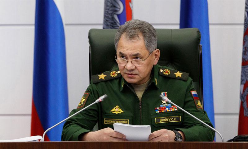 وزير الدفاع الروسي سيرغي شويغو - (انترنت)