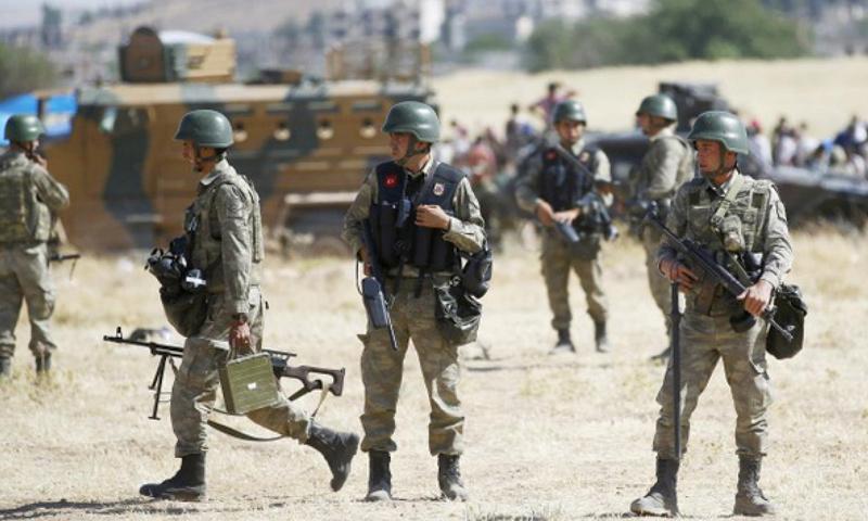 جنود أتراك شمال سوريا - آب 2016 (إنترنت)