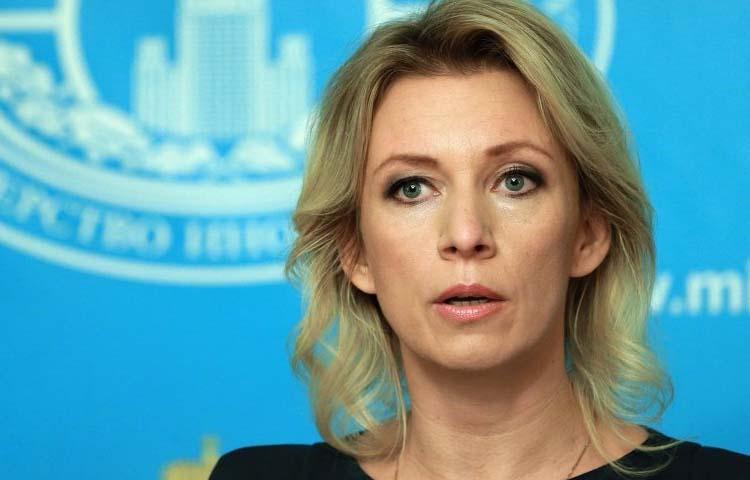 الناطقة باسم وزارة الخارجية الروسية، ماريا زاخاروفا_(انترنت)