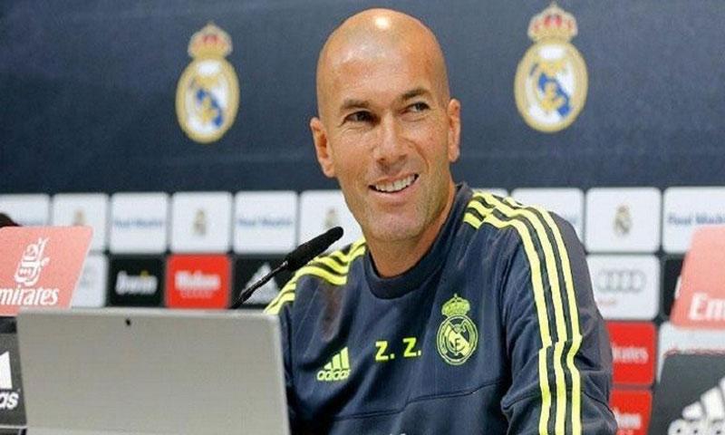 مدرب ريال مدريد زين الدين زيدان - (انترنت)