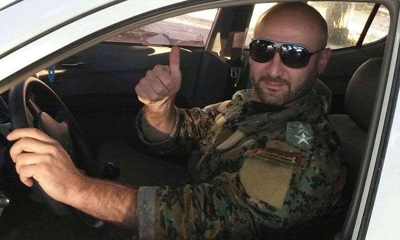 مقتل الرائد في قوات الأسد محمد أحمد أحمد في حقل الشاعر النفطي- الخميس 8 كانون الأول (فيس بوك)
