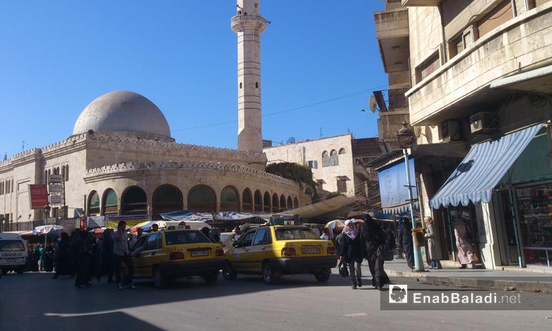 أرشيفية- حي الدباغة في مدينة حماة (عنب بلدي)