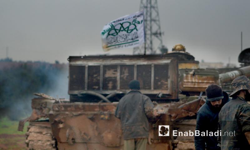 """تعبيرية: مقاتلون من حركة """"أحرار الشام"""" - 2016 (أرشيف عنب بلدي)"""