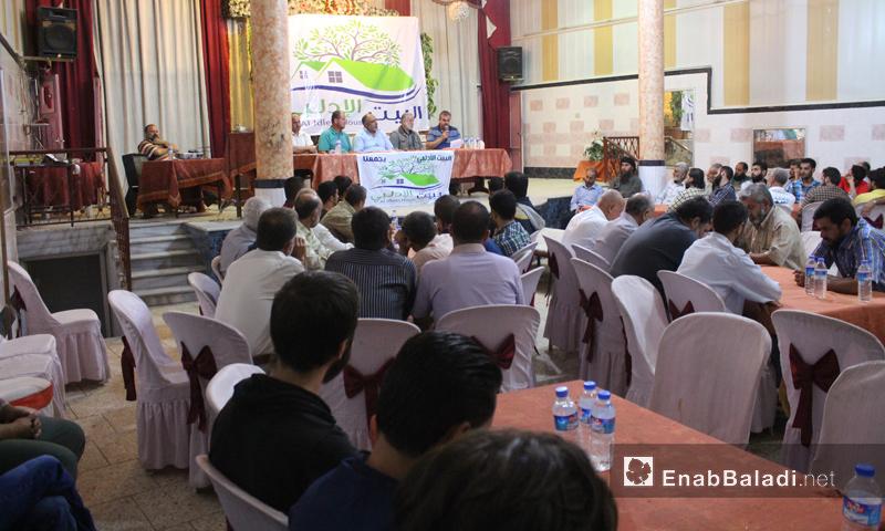 نقاشات حول الإدارة الجديدة في إدلب (عنب بلدي)