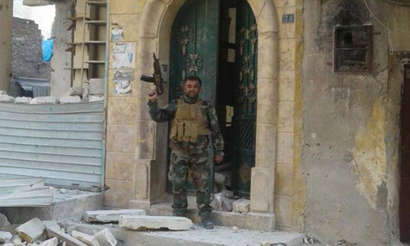 المساعد أول في المخابرات الجوية محمد حسن دياب (فيس بوك)
