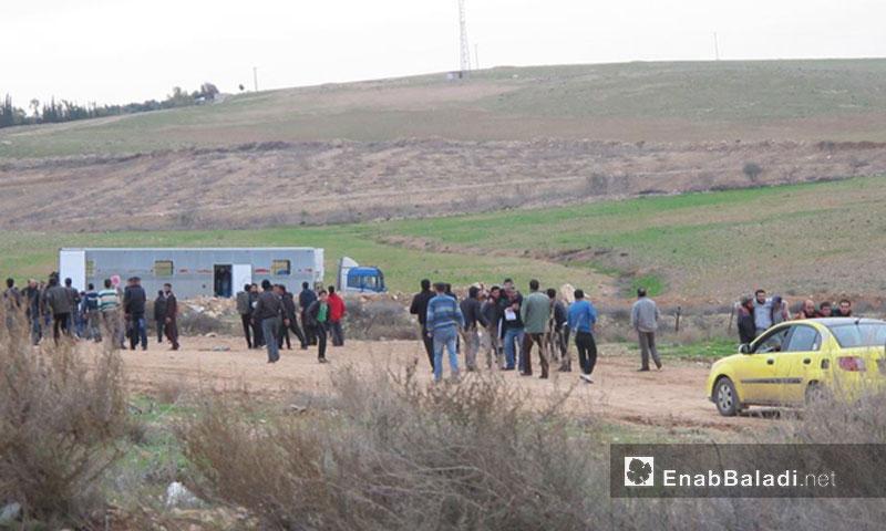 أرشيفية طرد سوريين من الأردن إلى محافظة درعا عنب بلدي