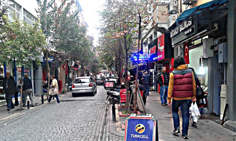 أحد أحياء مدينة اسطنبول (وكالات)