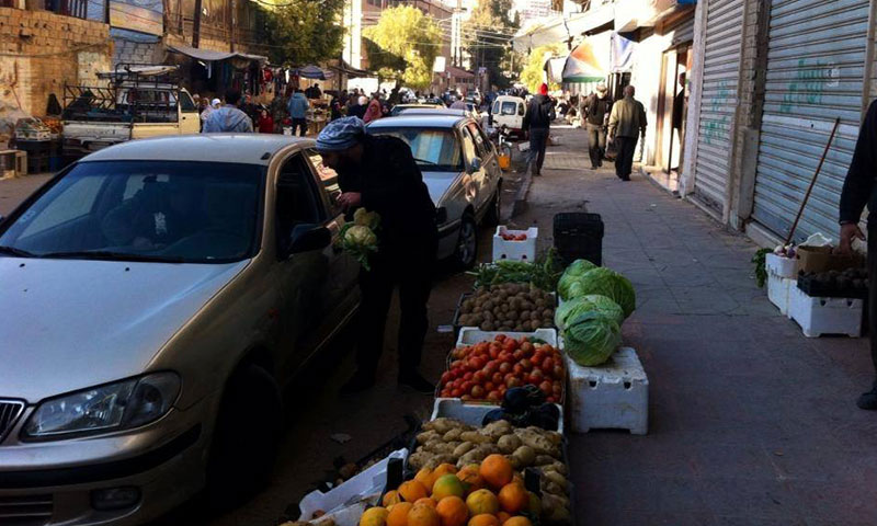 بلدة قدسيا في ريف دمشق- 27 تشرين الثاني (فيس بوك)