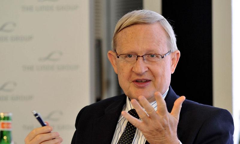 السفير الألماني السابق في سوريا غونتر مولاك - (انترنت)