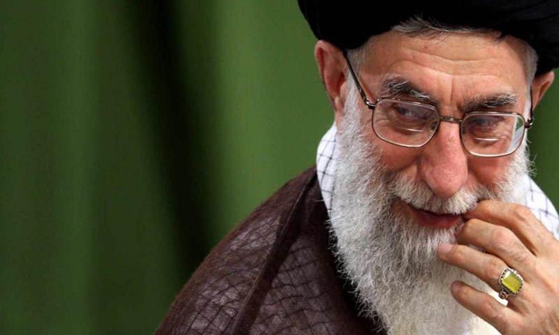 المرشد الإيراني خامنئي_(انترنت)