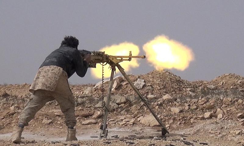 مقاتلين من تنظيم الدولة الإسلامية في ريف حمص_(أعماق)