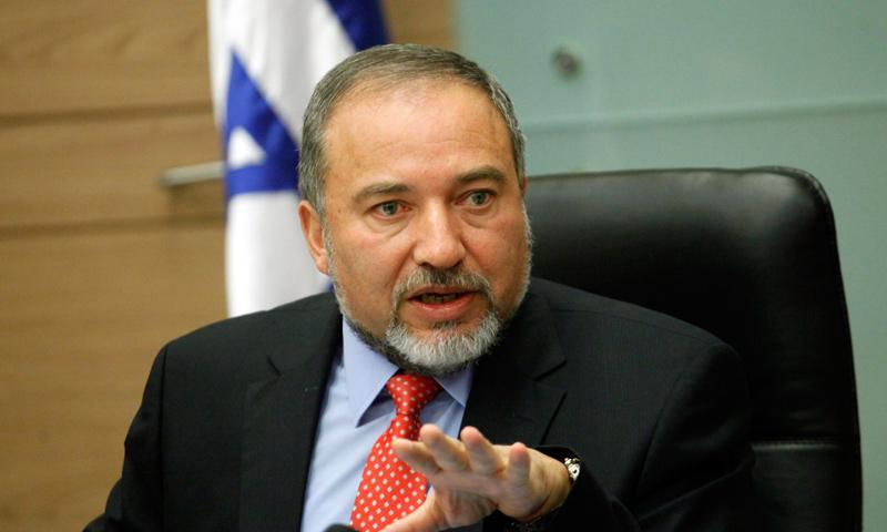 وزير الدفاع الإسرائيلي أفيغدور ليبرمان_(انترنت)