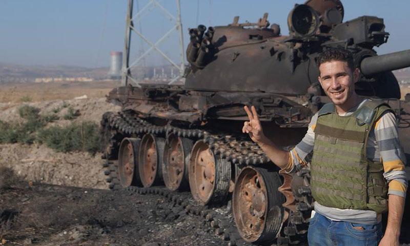 الناشط الإعلامي معاذ الشامي (فيس بوك)