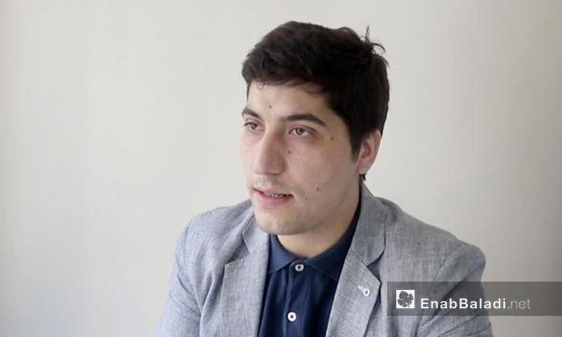 أسامة أبو زيد، الناطق باسم الوفد المفاوض في أنقرة (عنب بلدي)