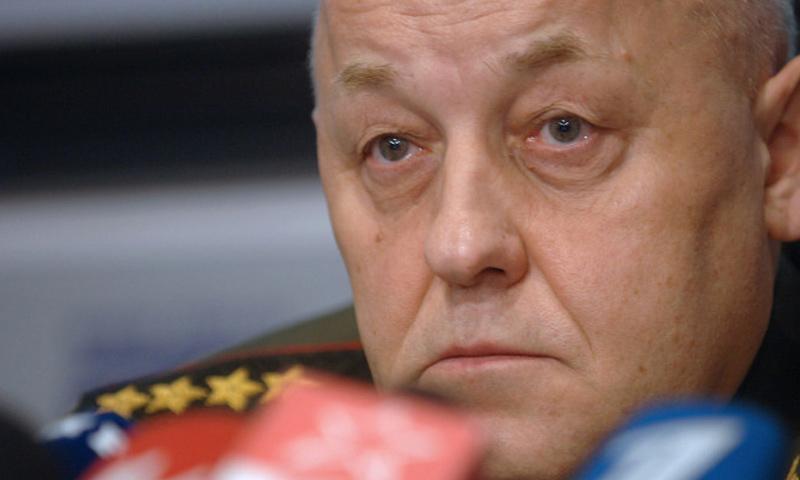 الرئيس السابق للأركان العامة الروسية، الجنرال يوري بالويفسكي_(انترنت)