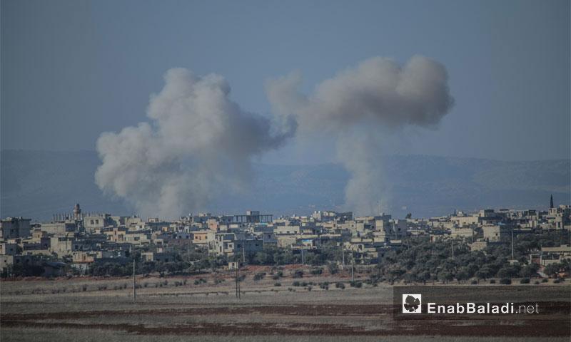 """استهداف بلدتي كفريا والفوعة من قبل فصائل المعارضة بصواريخ """"غراد""""- الأربعاء 7 كانون الأول (عنب بلدي)"""