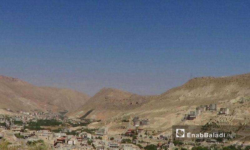 قرى وادي بردى في ريف دمشق الغربي1 كانون الأول(عنب بلدي)