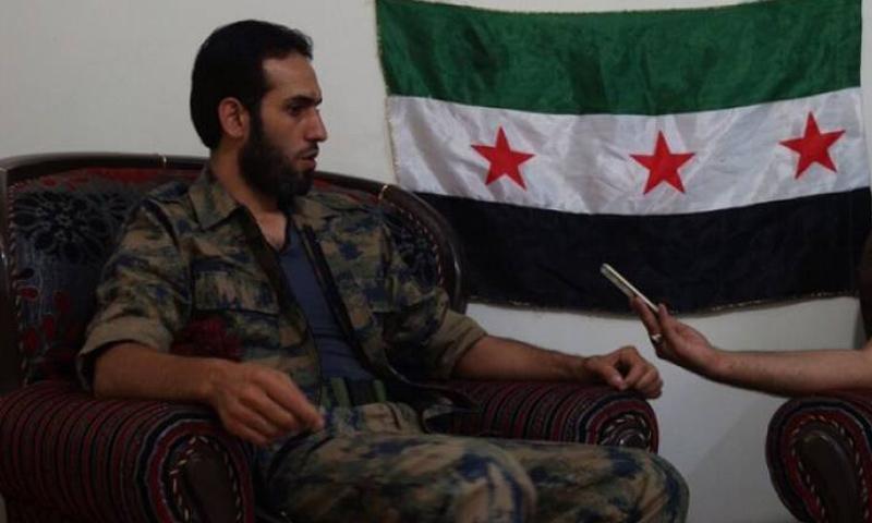قائد تجمع فاستقم صقر أبو قتيبة_(انترنت)