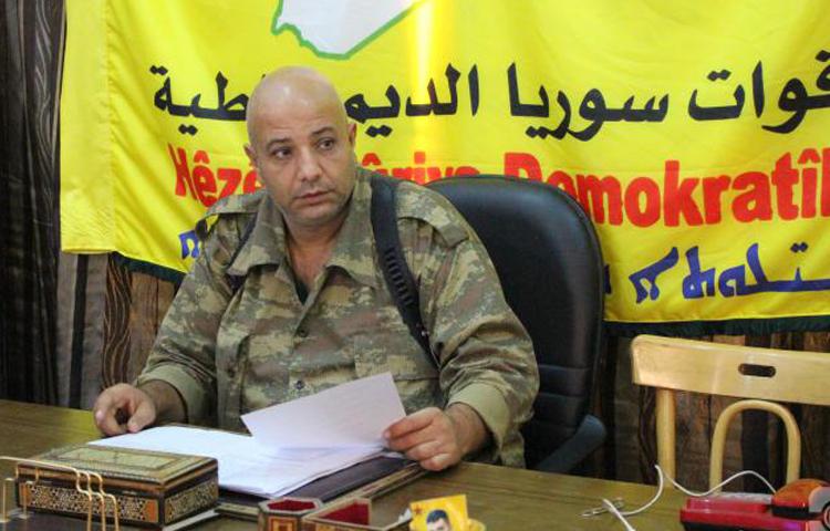 العقيد طلال سلو، المتحدث باسم قوات سوريا الديمقراطية