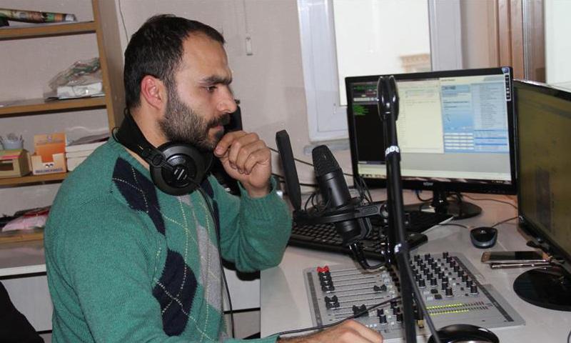 الإذاعي التركي عادل يتار_(الأناضول)