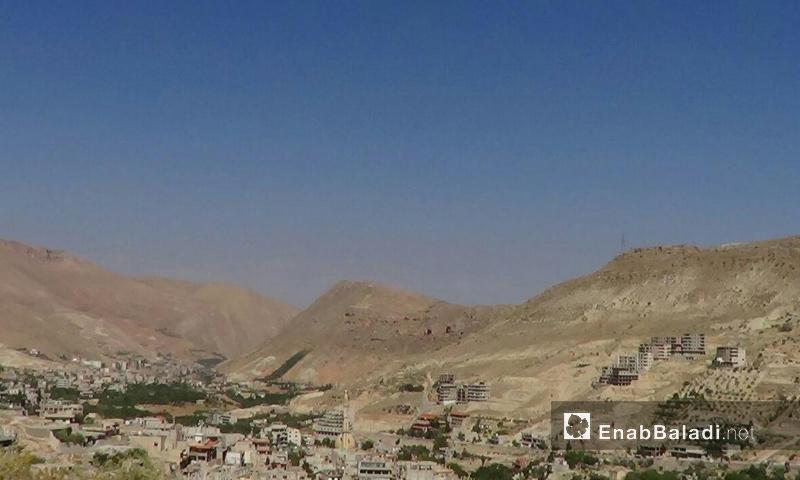 منطقة وادي بردى بريف دمشق_1 كانون الأول 2016_(عنب بلدي)