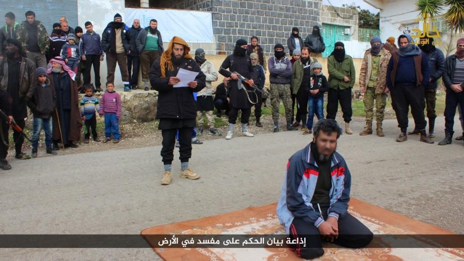 الشخص الذي أعدمه جيش خالد بن الوليد بتهمة الإفساد في الأرض_(فيس بوك)