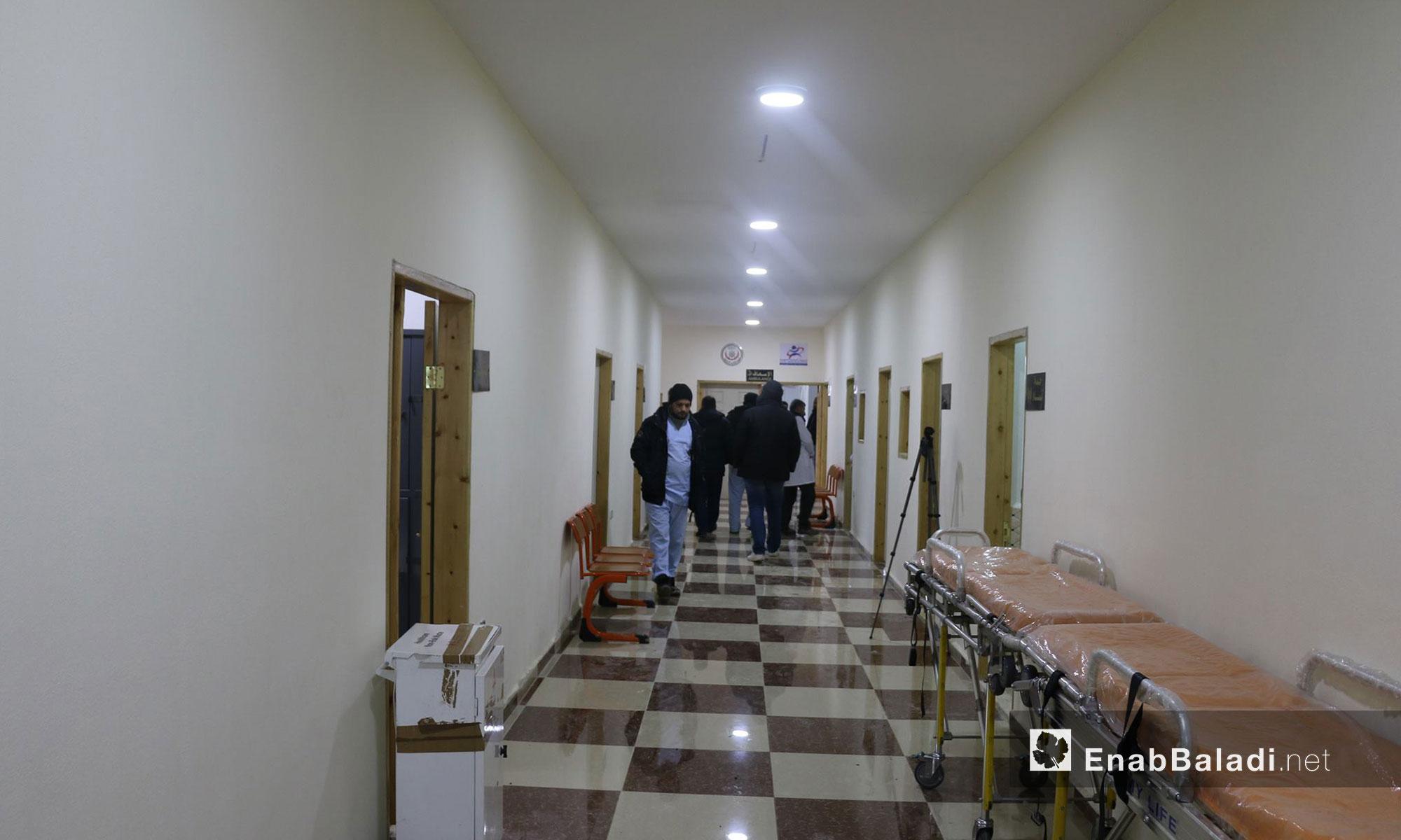 """افتتاح مستشفى """"الساحل"""" التخصصي في ريف اللاذقية - 16 كانون الثاني 2016 (عنب بلدي)"""