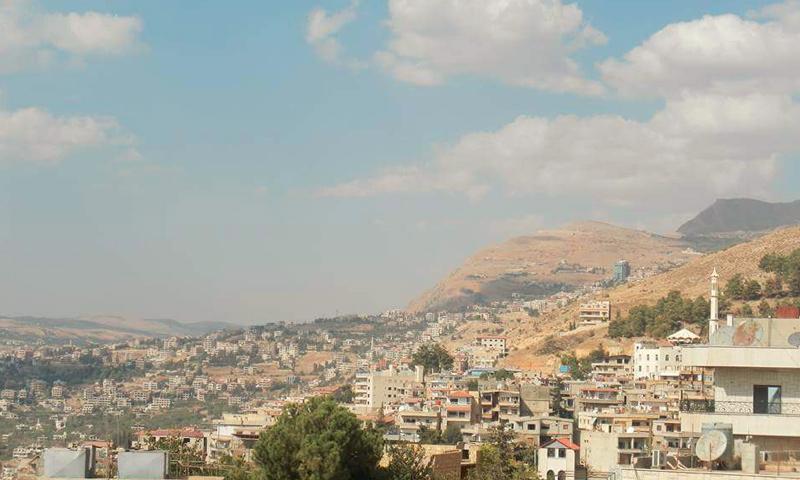 تعبيرية: منطقة مضايا وبقين في ريف دمشق (فيس بوك)