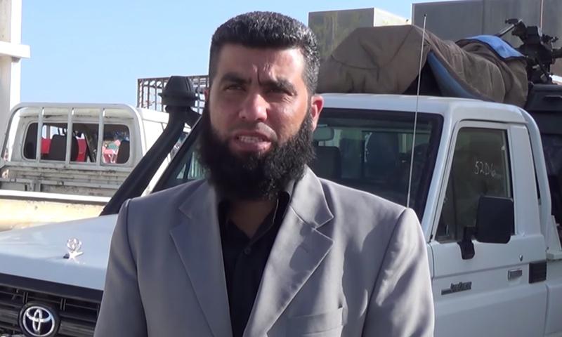 رئيس محمد دار العدل في حوران، عصمت العبسي (يويتوب)