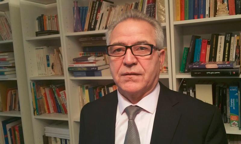 """خالد عيسى، ممثل حزب """"الاتحاد الديمقراطي"""" الكردي في أوروبا (إنترنت)"""