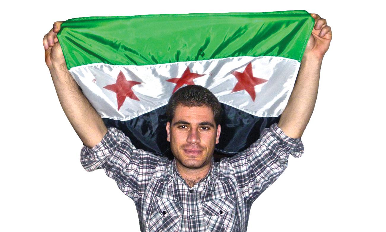 الصحفي السوري نبيل شربجي (عنب بلدي)