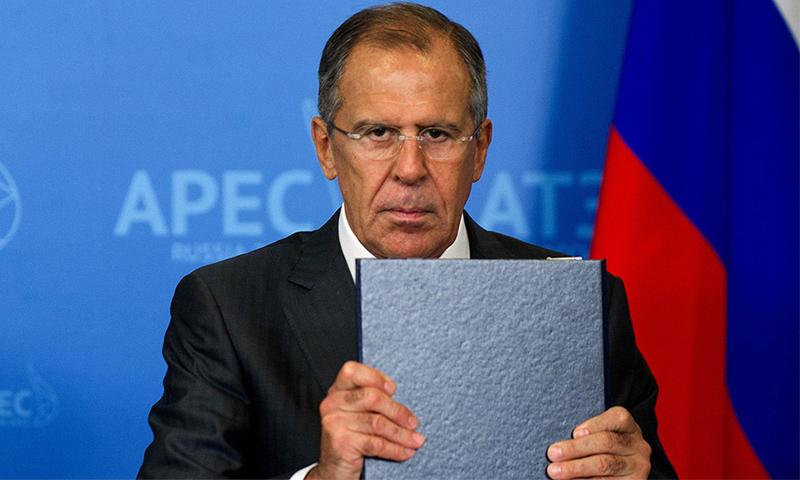 تعبيرية: رئيس الخارجية الروسي، سيرغي لافروف (إنترنت)