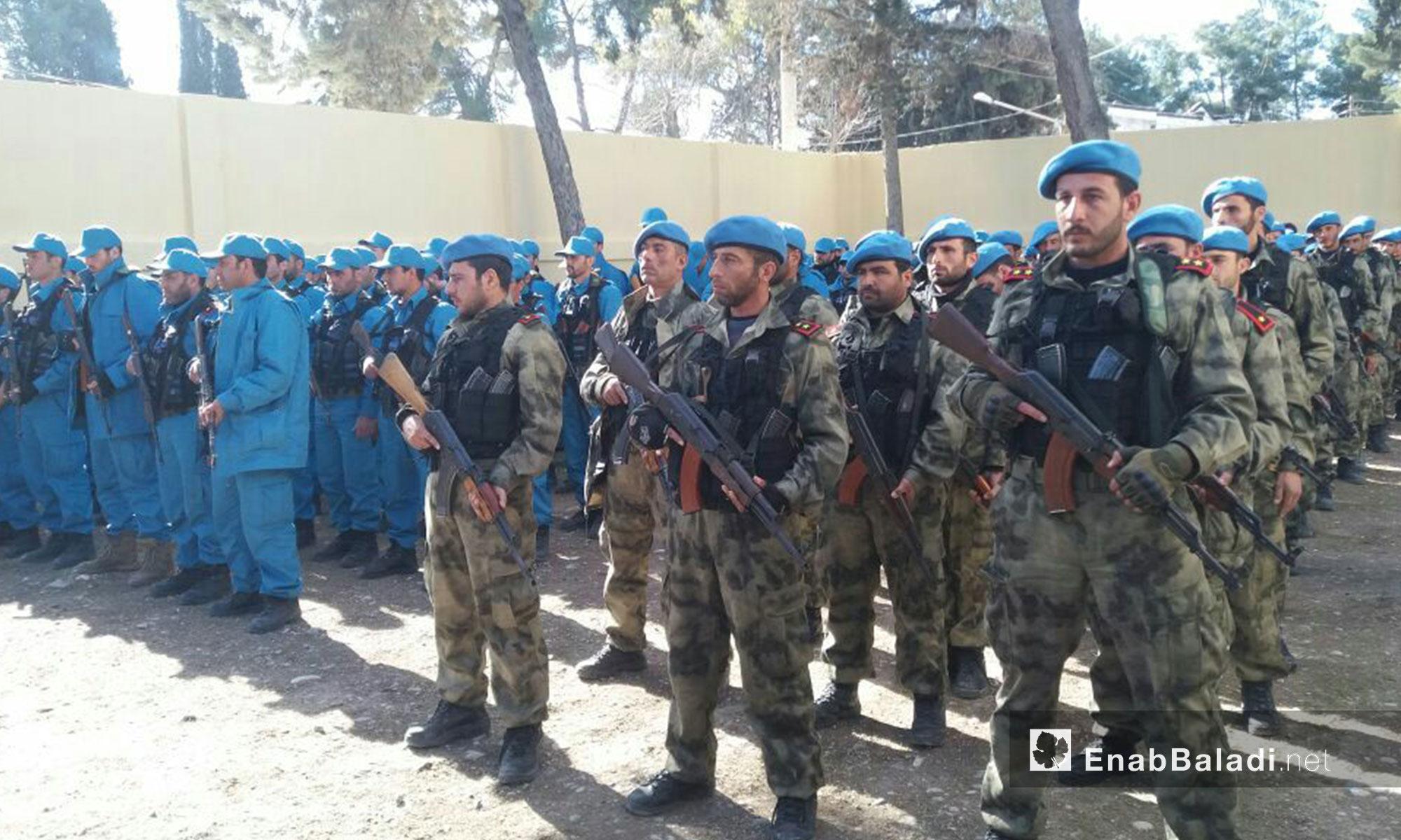 """تم تدريب عناصر """"الشرطة"""" في تركيا ليكونوا القوة المسلحة الوحيدة داخل المناطق المدنية"""